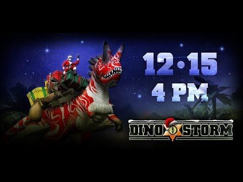 Evento de NATAL 2017 - Dino Storm-