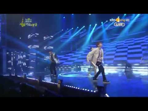 SHINee  - Sherlock _- The 22nd Seoul Music Awards
