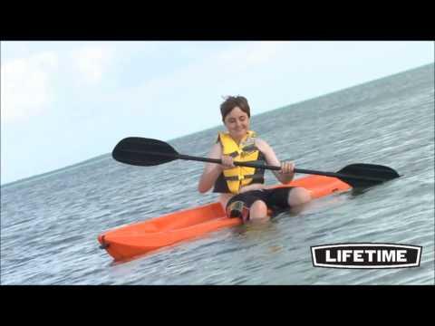 Lifetime Wave Youth Kayaks Demo