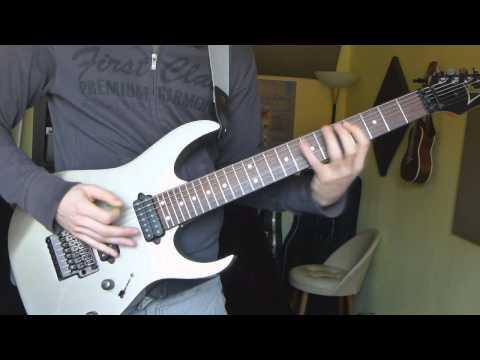 open b-string riff (7 string)
