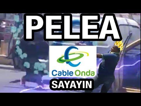 PELEA CABLE ONDA PANAMA VS TAXISTA versión SAYAYIN