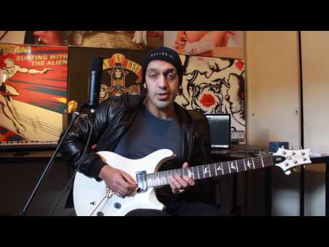 How to play 'Take The Power Back' by Rage Against The Machine Guitar Solo Lesson w/tabs