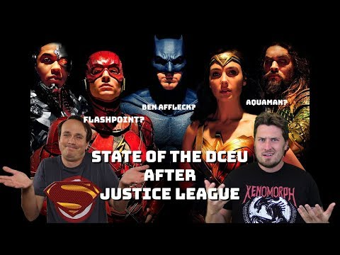 State of the DCEU after Justice League