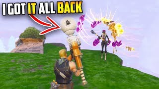 I lost everything... But this is how I got it all BACK!!! (Fortnite)