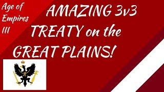 AMAZING Treaty Match on the Great Plains!! AoE III