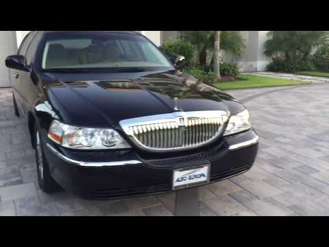 2010 Lincoln Town Car with Kenne Bell Supercharger for sale by Auto Europa Naples MercedesExpert.com