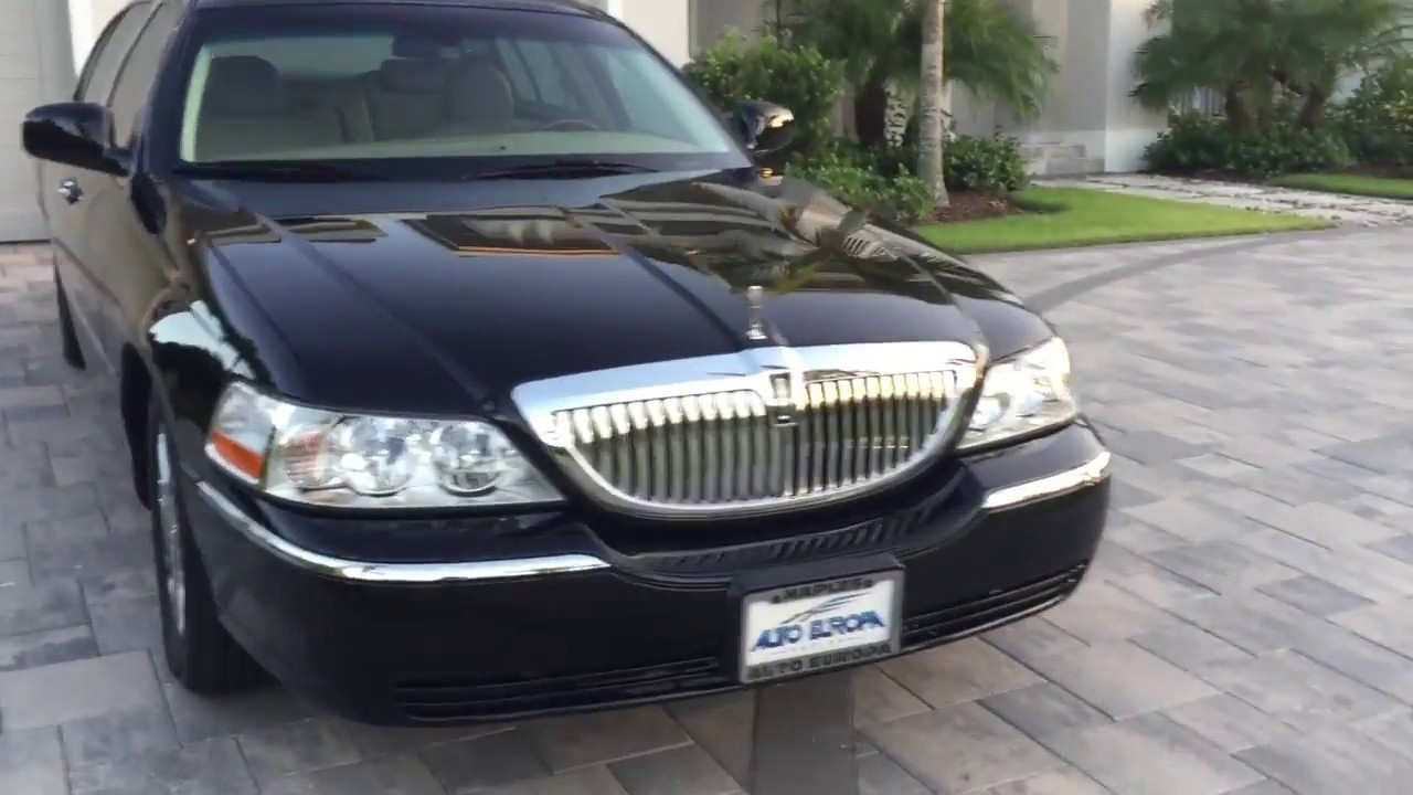 2010 Lincoln Town Car Kenne Bell Supercharger Review And Test Drive By Bill Auto Europa Naples