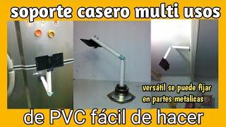 Brazo Soporte movil de PVC, para diversos Proyectos