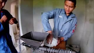 Extrusora de plastico