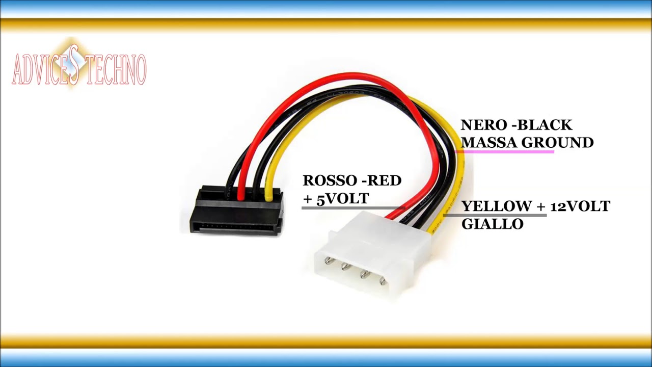 ide sata to usb cable wiring diagram wiring diagram sata electrical diagram molex sata cable schema elettrico cavo ...