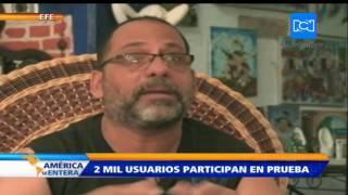 Miles de cubanos participan en la prueba de Internet gratis