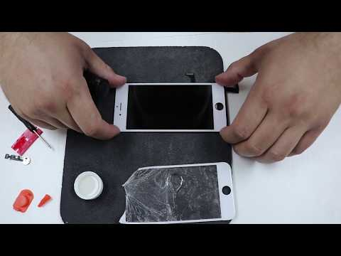 iPhone 7 Screen Replacement Glass Only Repair - DIY 15 min tutorial