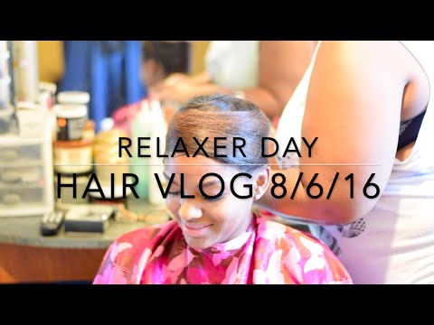 Relaxer Day Hair Vlog