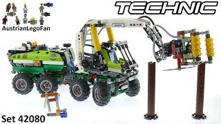 Lego Technic 42080 Forest Machine - Lego Speed Build Review