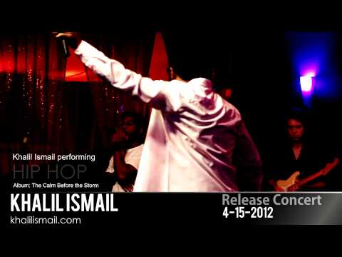 Khalil Ismail Performing Hiphop