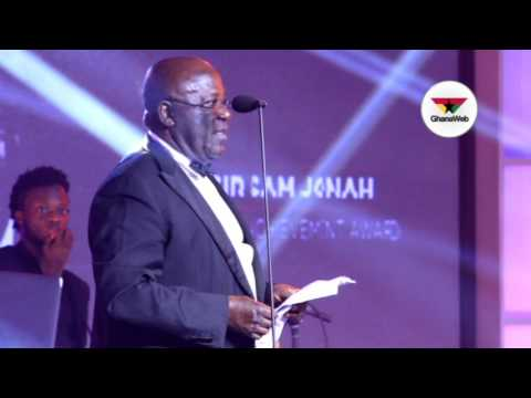 Sam Jonah's humorous and inspiring speech at Ghana Legacy Honours 2017