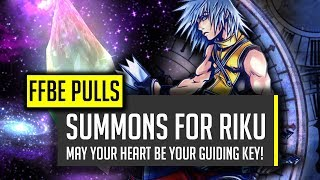 summons for riku can we find our way through the darkness ffbe final fantasy brave exvius
