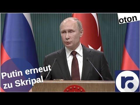 Putin erneut zu