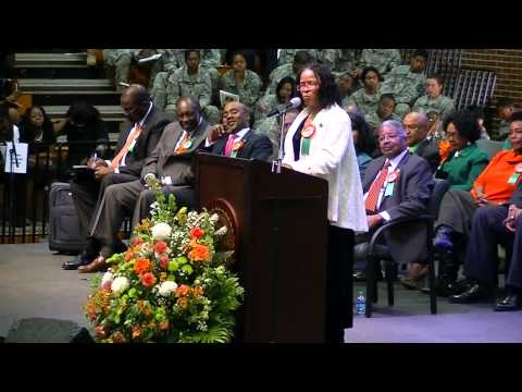 2012 FAMU - HomeComing Convocation - FAMU Alum/T'Keyah Crystal Keymah 1