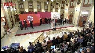 Conferencia de prensa de AMLO, 14 de enero