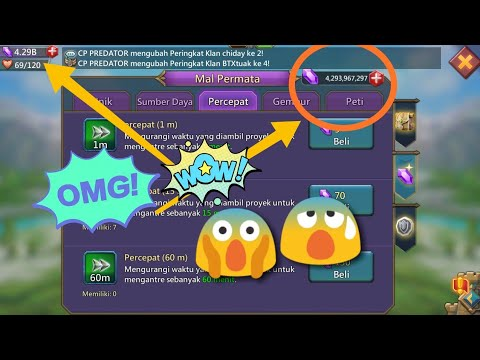 How To Crack/Hack Diamond 4.29B Lords Mobile (2018)