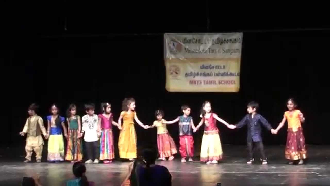 2014-MNTS Tamil Palli - Annual Day - Mazhalai Kids stage performance