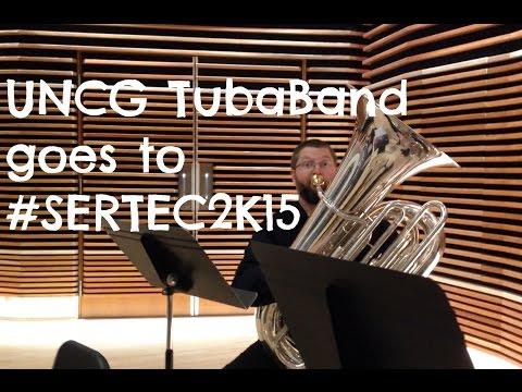 UNCG TubaBand does SERTEC 2015