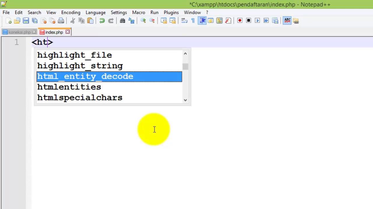 Tutorial Membuat Form Pendaftaran Berbasis Web Dengan Php Dan Mysql
