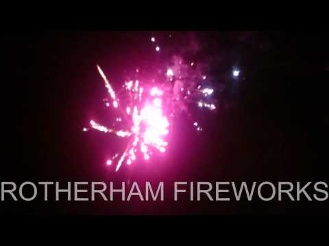 Seven Wonders by Sovereign.  Brought to you by Rotherham Fireworks
