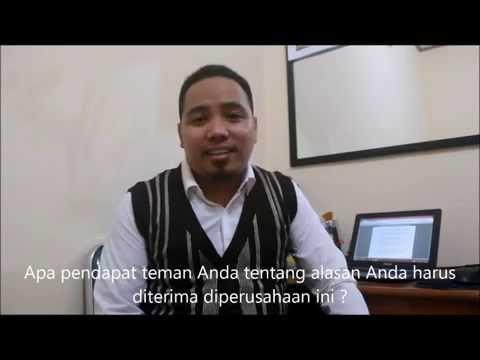 Jawaban Interview : Kenapa Perusahaan HARUS menerima ANDA ?