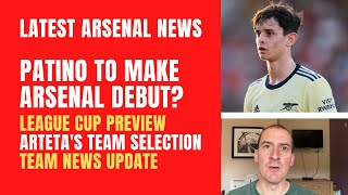 Patino to make Arsenal debut? Wimbledon preview, team news and Arteta's selection comments