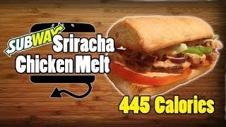 Subway Sriracha Chicken Melt Recipe