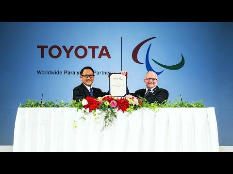 Toyota Signs on as IPC Worldwide Paralympic Partner