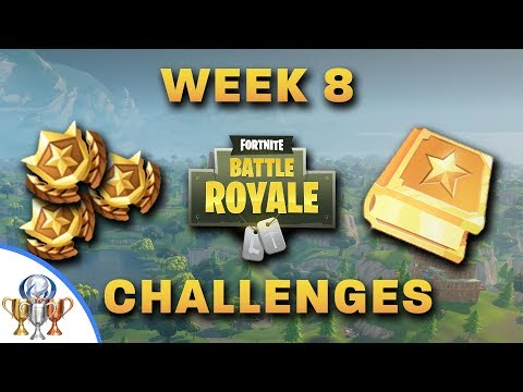 Fortnite - All Week 8 Challenges - Search Between 3 Boats, Dance On 3 Different Dance Floors & More