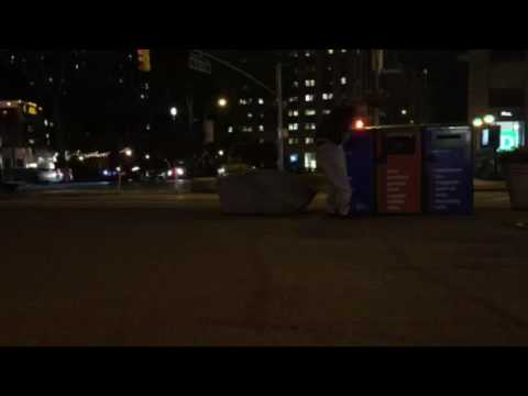 Homeless in NYC-public urination