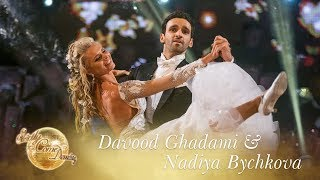 Davood & Nadiya Waltz to 'With You I'm Born Again' - Strictly Come Dancing 2017