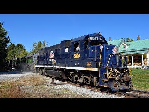 Green Mountain Railroad— September Action 2017