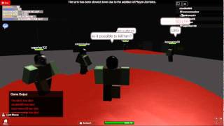 ROBLOX - Contamination rare glitch (BECAUSE ZOMBIES CAN WIN THE ROUND TOO!)