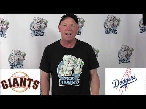 Los Angeles Dodgers vs San Francisco Giants Free Pick 7/25/20 MLB Pick and Prediction