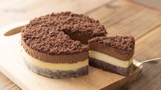 ドゥーブルフロマージュ・ショコラの作り方 Double Chocolate Fromage Chesecake|HidaMari Cooking