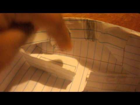 Kegan's Paper Camaro