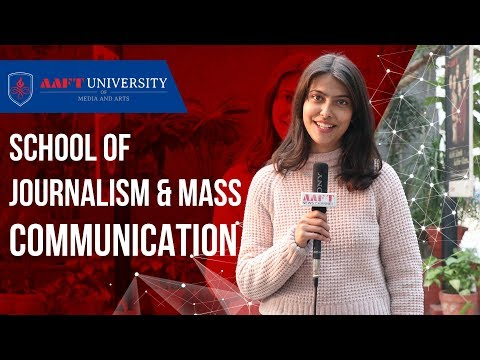 School of Journalism & Mass Communication | AAFT University