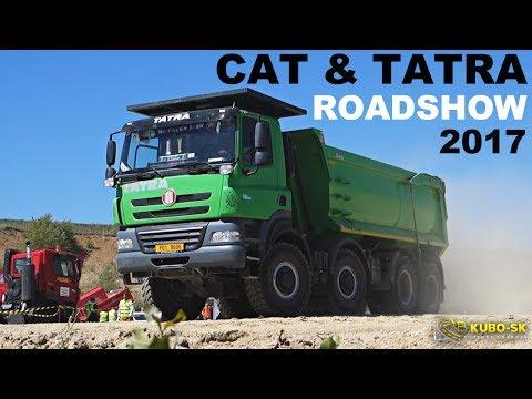 CAT & TATRA ROADSHOW | TRAINING DAY | Czechia 2017