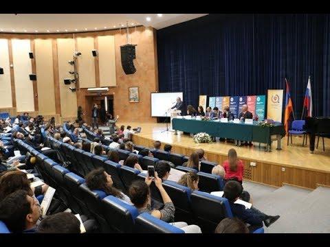 На базе Российско-Армянского университета прошел Третий российско-армянский молодежный форум