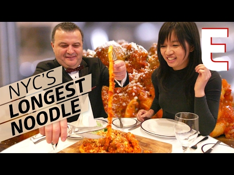 The 30-Foot Long Noodle You Can Also Eat As Dinner — Consumed