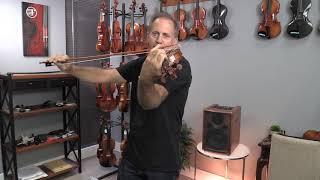 Mezzo Forte MJZ905 Holstein Traditional Cannone Violins For Marcella