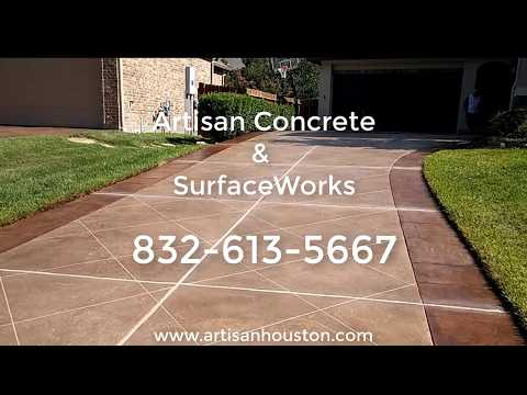 Elegant Driveway Resurfacing - Houston TX