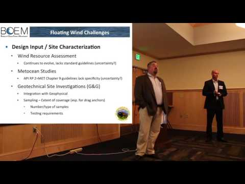Keynote Address: Unique Permitting Challenges for Floating Turbines - Maurice Falk & Doug Boren