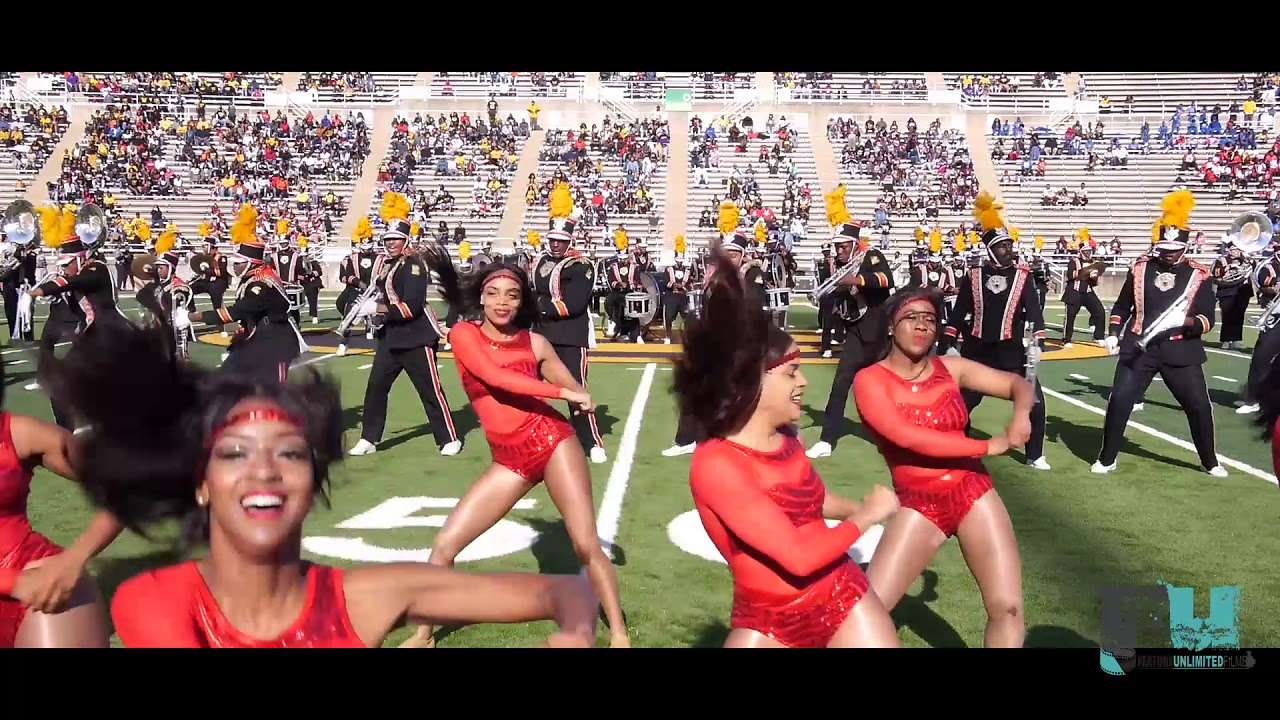 2018 Grambling State Marching Band Homecoming Halftime Show