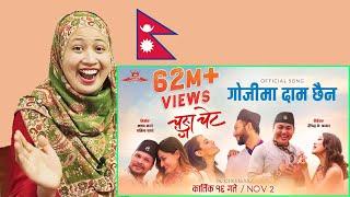 Gojima Daam Chaina   Nepali Song   Malaysian Girl Reactions